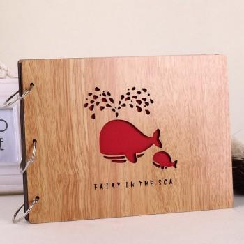 Album gỗ lớn cá voi 12