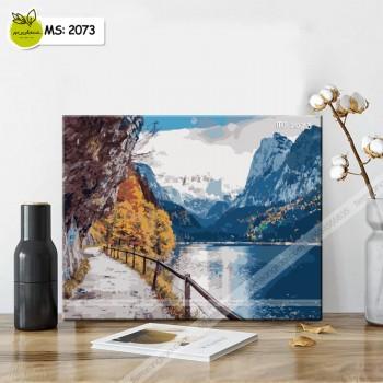 Tranh Tô Màu Sắc màu Thiên Nhiên T2073