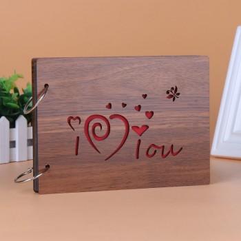 Album gỗ nhỏ I love you 10