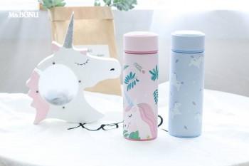 Bình giữ nhiệt Unicorn màu xanh 500ml