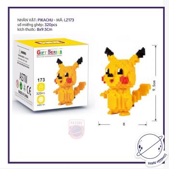 Bộ lego Pikachu LZ173