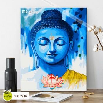 Tranh tô màu Đức Phật từ bi T504