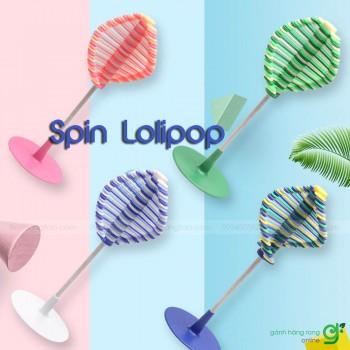 Trò chơi giải trí đánh bay căng thẳng Spin Lolipop (nhựa)